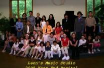 2005 End Year Recital