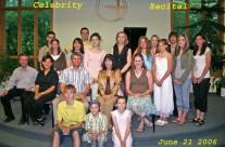 Celebrity recital June 21, 2006