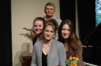 Kyla, Emily and Julia