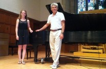 Kendra Oudyk winner of Bedford award for excellence in piano playing 2014 McMaster University
