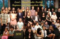 Year 2018 The best wishes from Leon's Music Studio